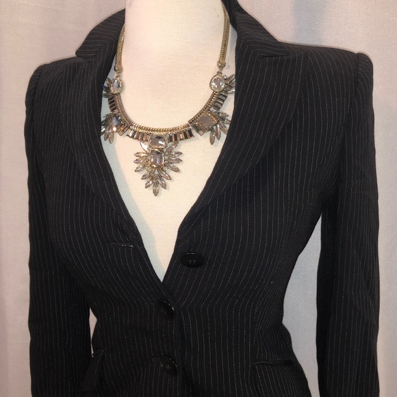 Armani Collezioni Jackets & Blazers - Vintage Pinstripe Armani Blazer